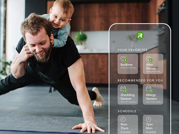 Lên lịch tự động hóa cùng ứng dụng iRobot Home