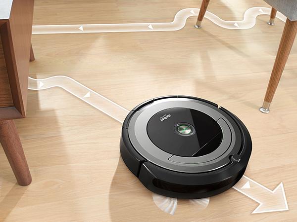 iRobot Roomba 690 len lỏi từng ngóc ngách