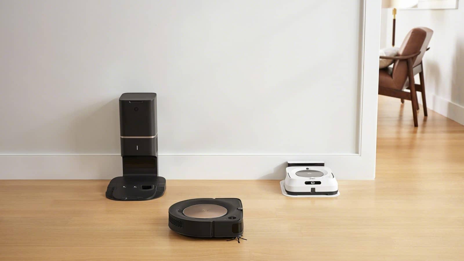 Robot hút bụi Roomba s9+ và Robot lau nhà Braava Jet m6