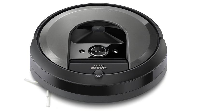 Camera được thiết kế phía trên máy giúp iRobot Roomba i7 nhìn đường thông minh