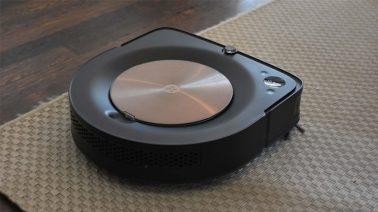 robot hút bụi iRobot Roomba s9 hút bụi trên sàn cứng và thảm dày
