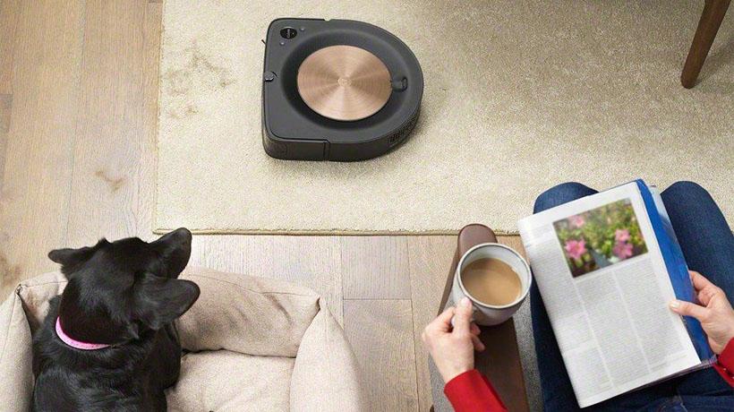 robot hút bụi Roomba hút sạch lông thú cưng