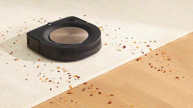 mô hình robot hút bụi iRobot Roomba s9