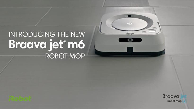 Robot lau nhà tốt nhất – Braava jet m6