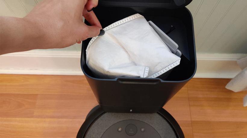 túi rác của Roomba bẫy các chất gây dị ứng