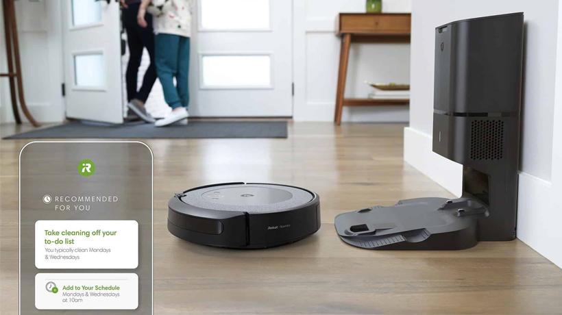 robot hút bụi iRobot Roomba i3+ với thùng bụi lớn siêu tiện lợi