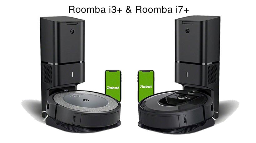 So sánh mô hình Roomba i3 plus với Roomba i7 plus