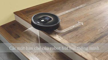 hạn chế của robot hút bụi