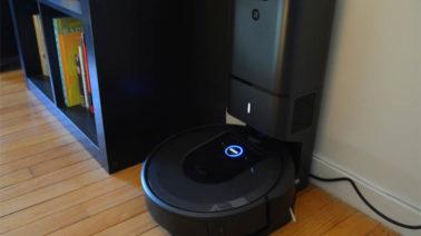 robot hút bụi không tự về sạc