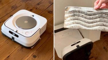 robot lau nhà tự động